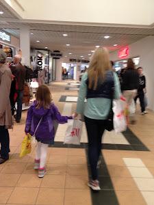 På shopping