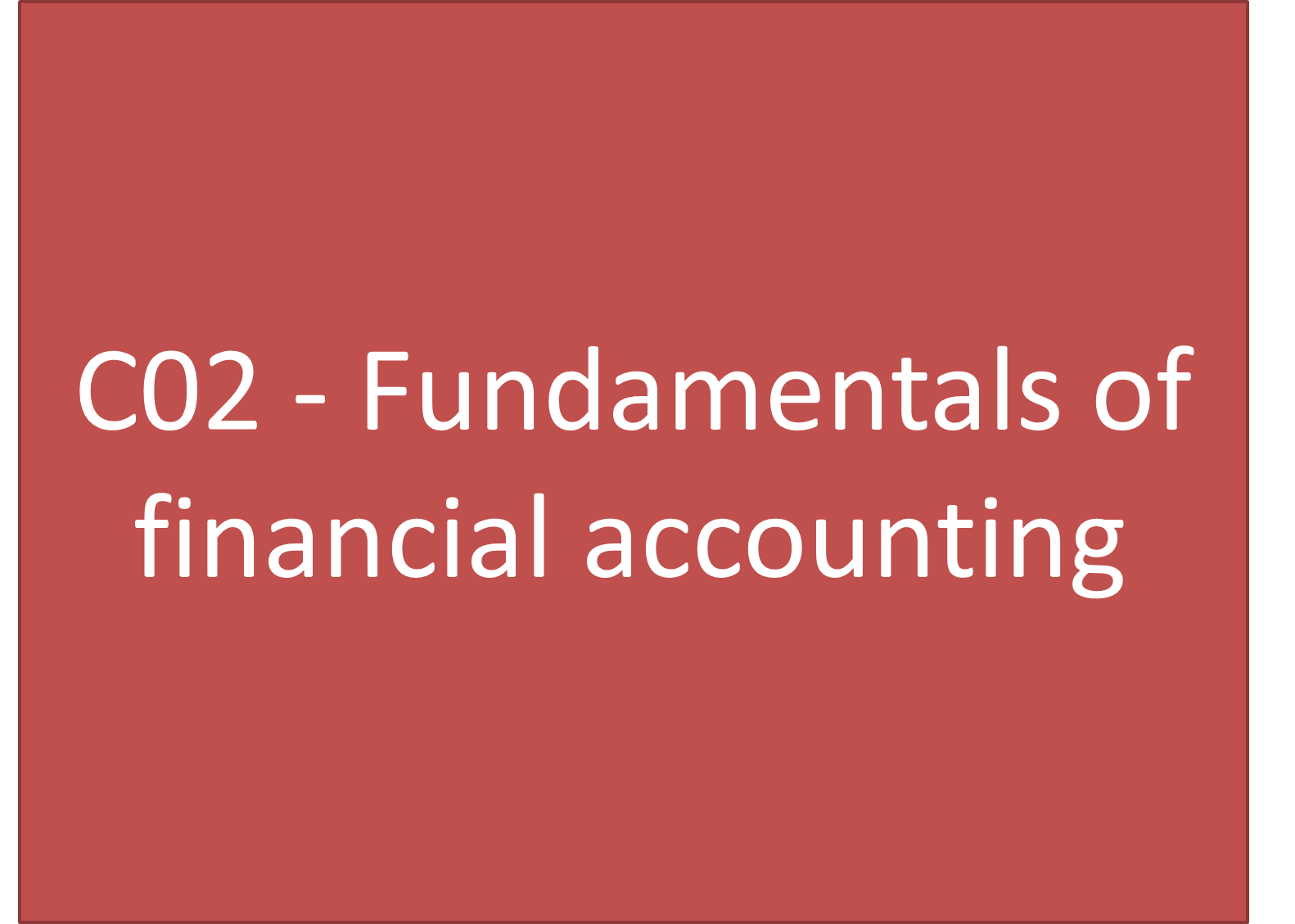 fundamentals of financial reporting About this course: this course will teach you the tools you'll need to understand the fundamentals of financial accounting concise videos, the financial records of a small business, and your turn activities guide you through the three most commonly used financial statements: the balance sheet.
