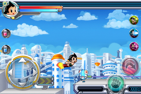 Download Jogo iPhone Astroboy Tap Tap Rush