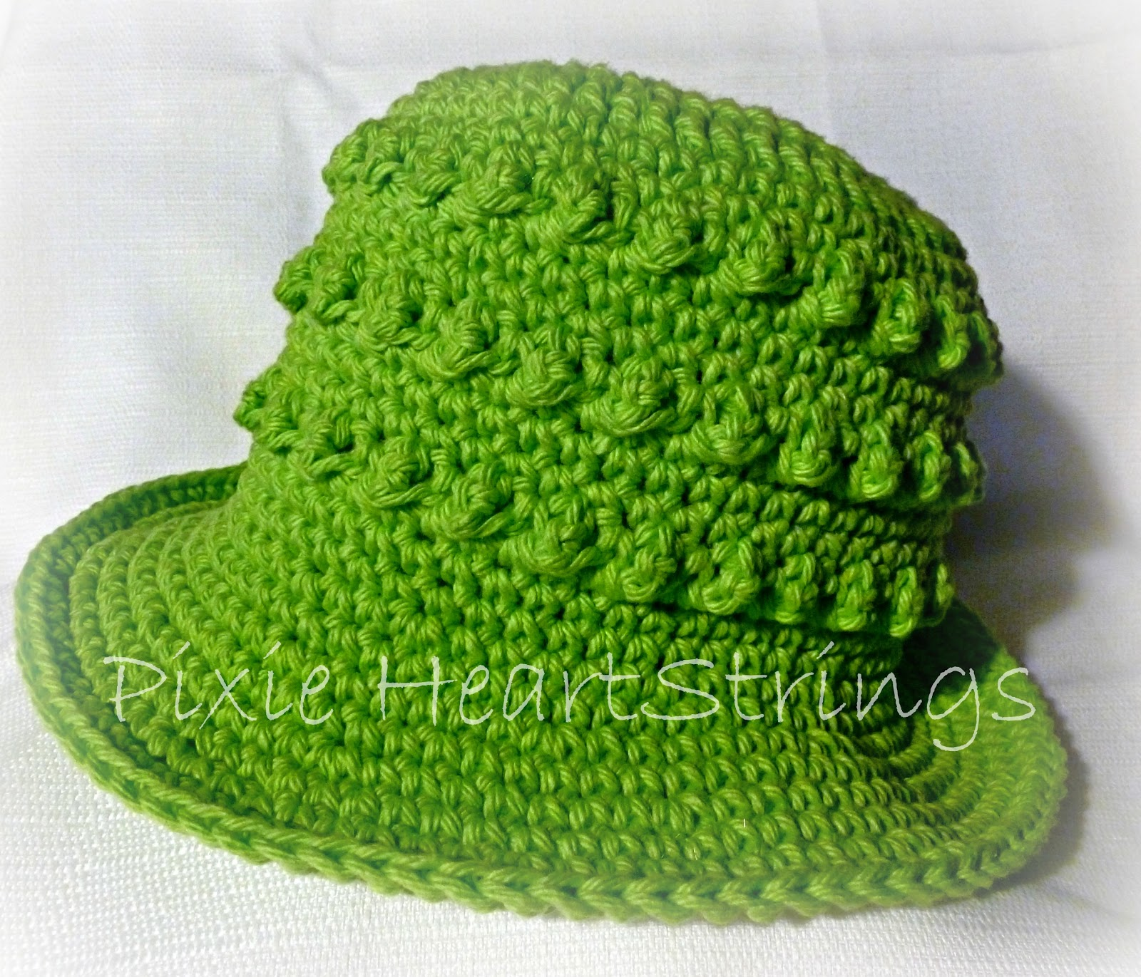 Pixie HeartStrings: Popcorn Sun Hat Pattern...