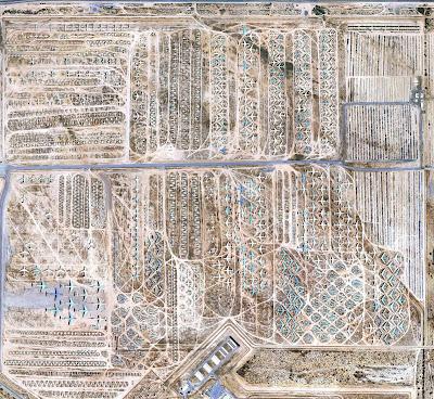 aeronaves - Davis-Monthan AFB - o maior cemitério de aeronaves do mundo  AMARC+2+-+Foto+a%C3%A9rea+1