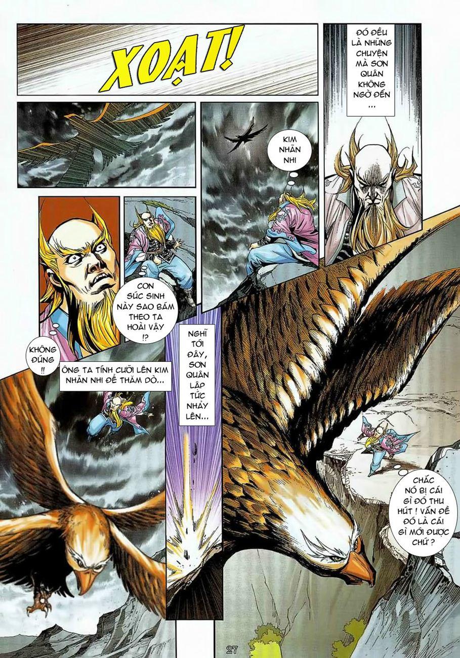 Thần Chưởng Long Cửu Châu chap 8 - Trang 27