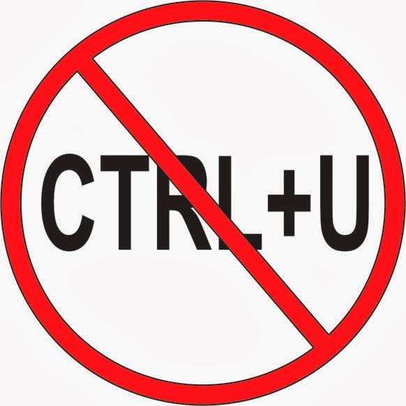 Cara Agar Orang Tidak Bisa CTRL + U Di Blog