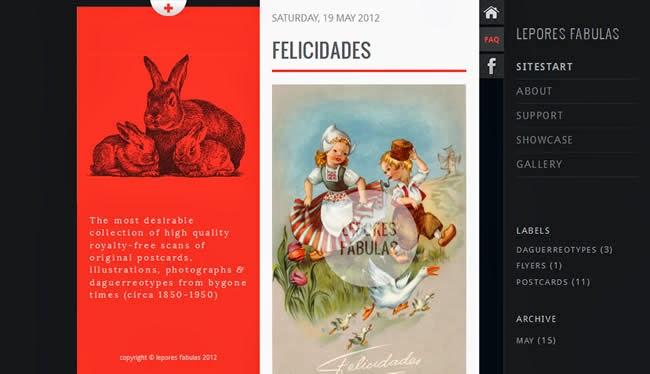 Lepores Fabulas–HTML5/CSS3/Jquery Blogger template
