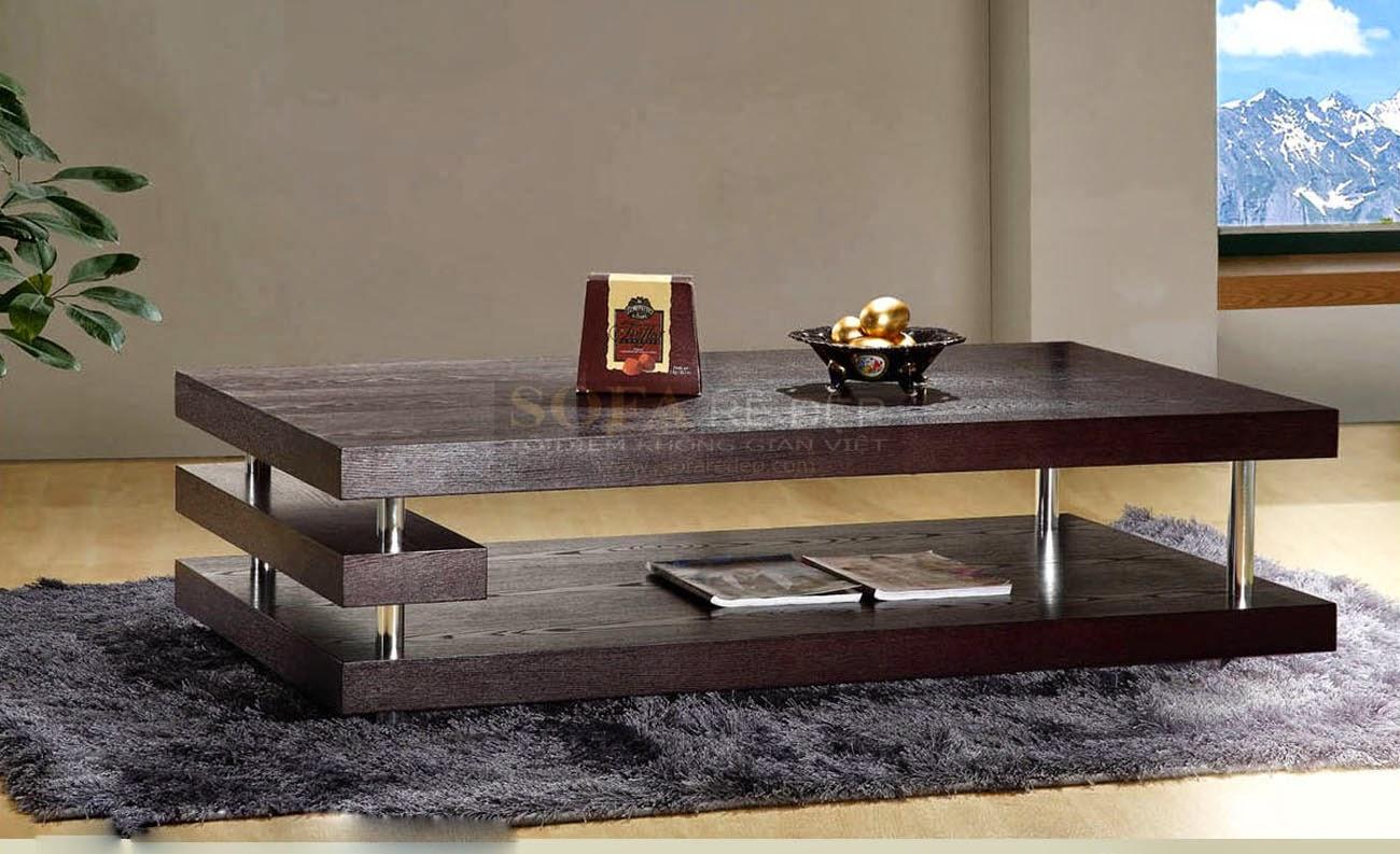 Bàn sofa gỗ BS056