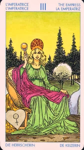 Emperatriz-Tarot Universal