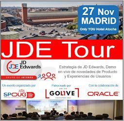 27 Noviembre JDE Tour Madrid