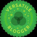 Selo Versatile Blogger