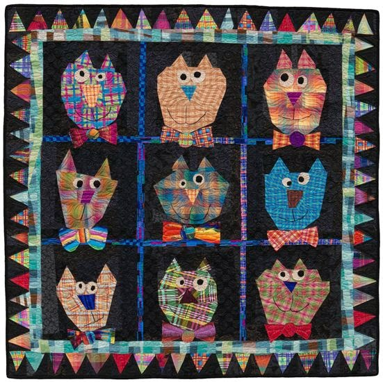 Mary Lou's Cat's from Out of the Box with Easy Blocks