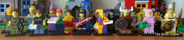 LEGO Series 12 full set of minifigures