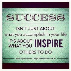 Inspire others and create success!