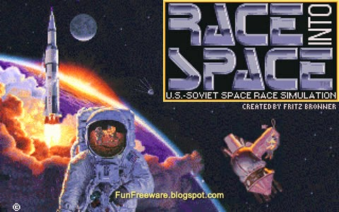 Free Space Race Simulation Game - Race Into Space