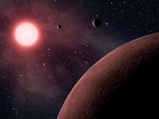 Sistema solar KOI-961, localizado na constelação de Sygnus abriga os menores exoplanetas conhecidos