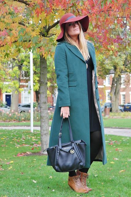 Vogue maxi coat