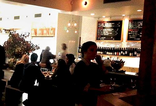 Farmshop LA dining room