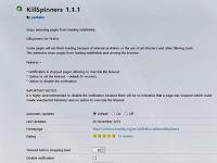 KillSpinners, Cara Mencegah Firefox Crash