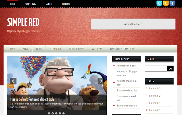 30 Template Premium Blogger tốt nhất năm 2013