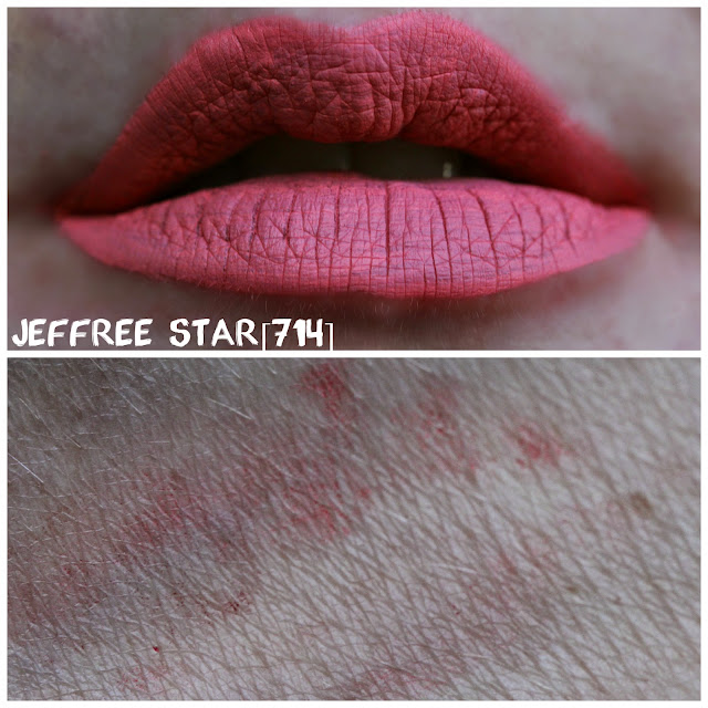 Jeffree Star Velour Liquid Lipstick in [714]