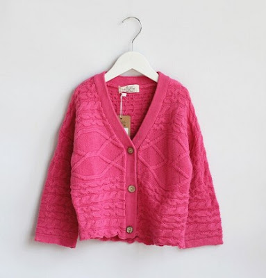 Model Cardigan Rajut Anak Import Korea