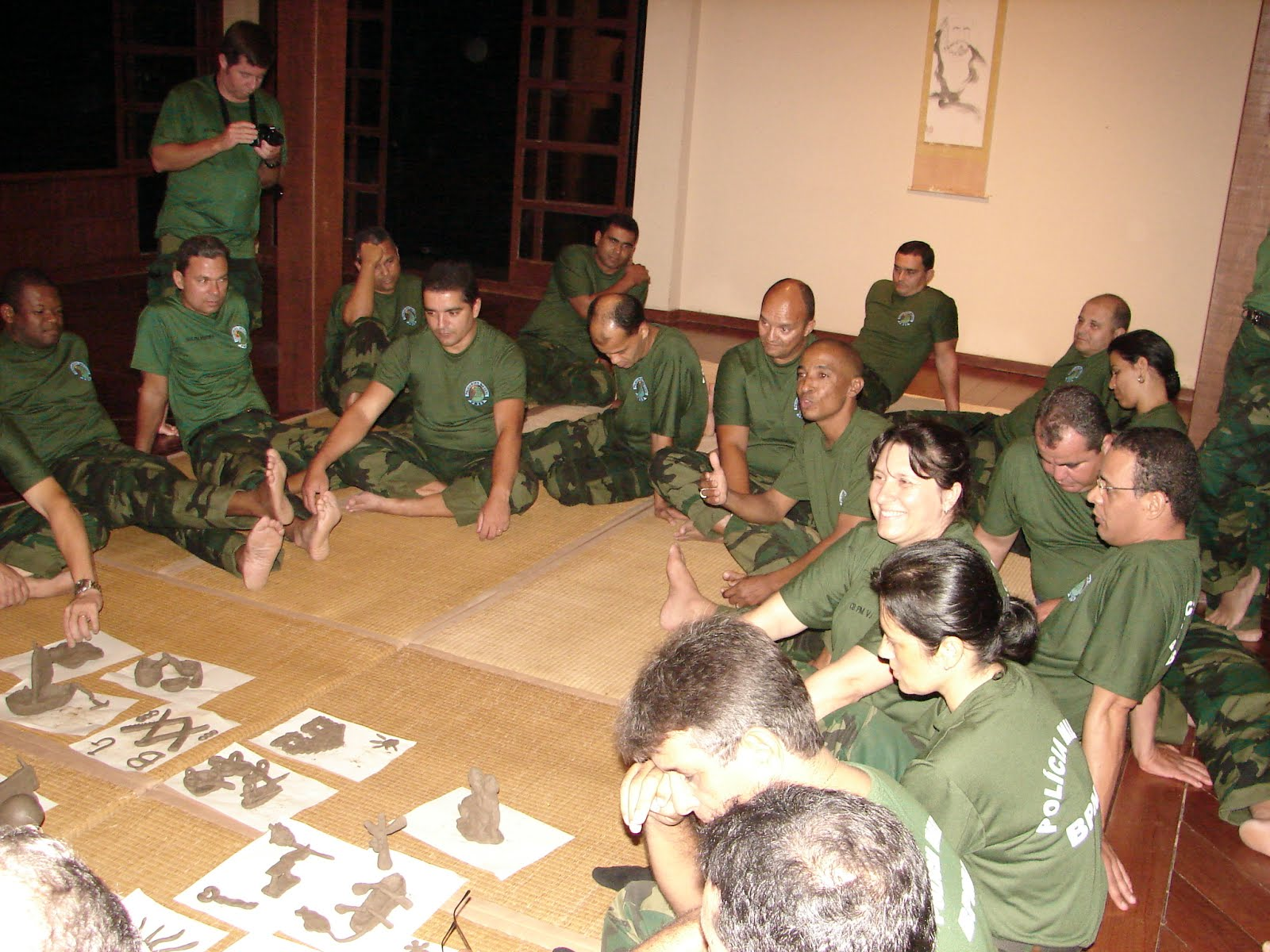 Vivência socioambiental para a Polícia Militar Ambiental do ES
