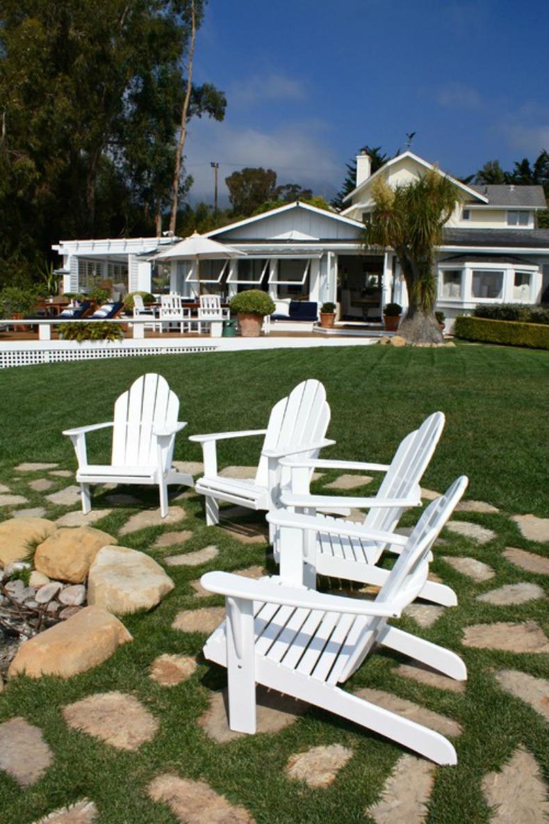 Coastal beach house tour Summerland, CA