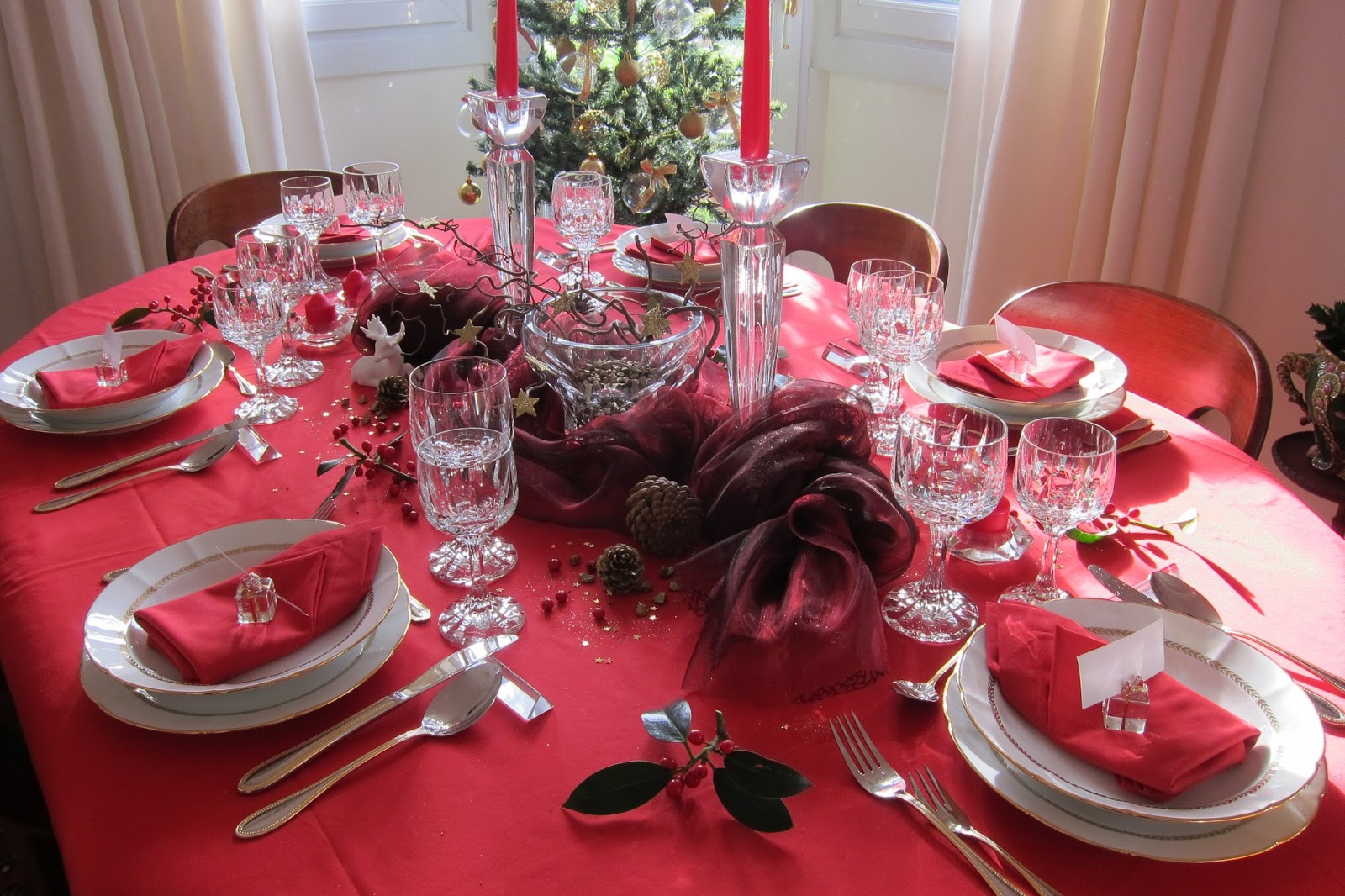 Decoration Table De Noel 2015 Id E Inspirante Pour La Conception De La Maison