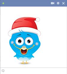 Santa Bird Icon