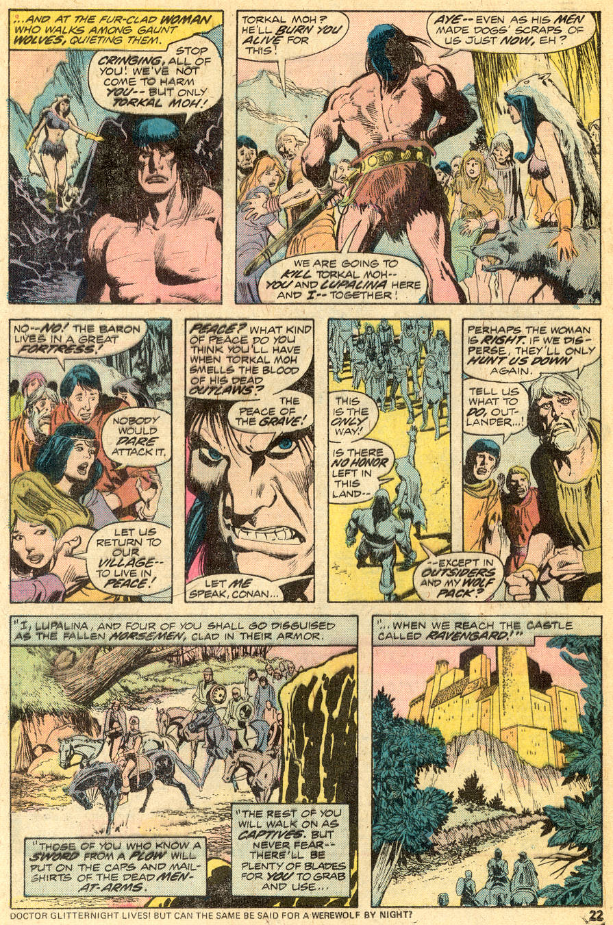 Conan the Barbarian (1970) Issue #49 #61 - English 13