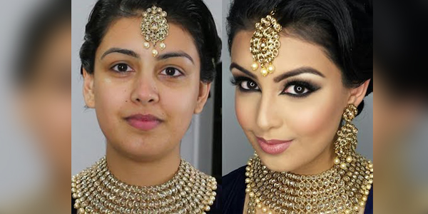 Bollywood Inspired South Asian Bridal Party Makeup Tutorial 2016-2017