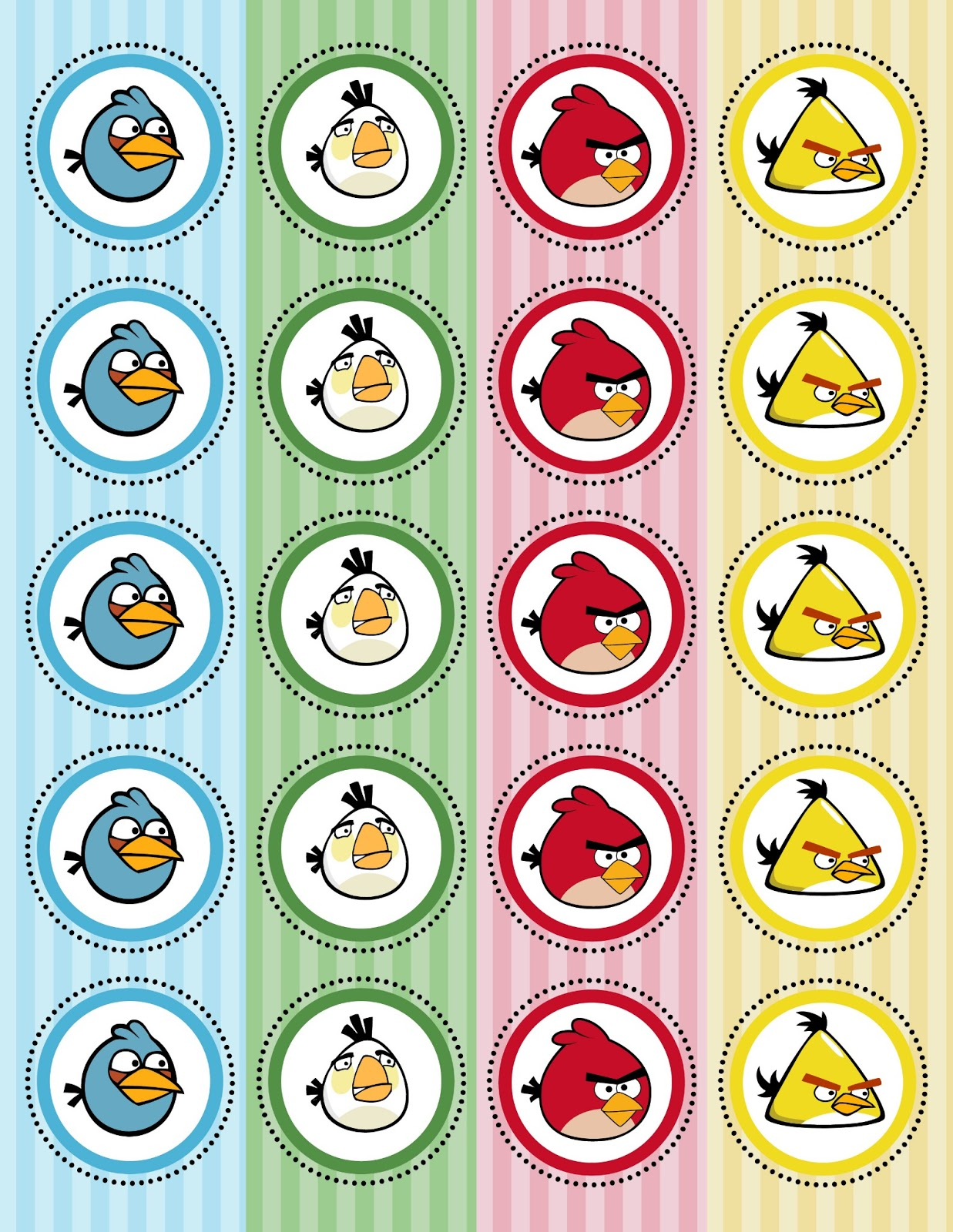 Angry Birds Cupcake Kit