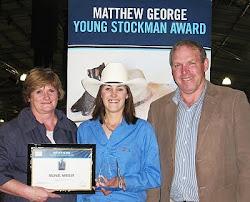 2010 Matthew George Award