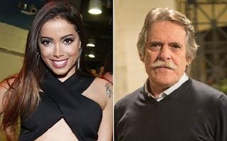 """No Twitter, o ator comentou que o destaque de Anitta e Luan Santana entre os vencedores deveria ser considerado como """"o fim da música"""". Ele foi além e complementou esse raciocínio com outros ataques à produção cultural jovem no Brasil."""