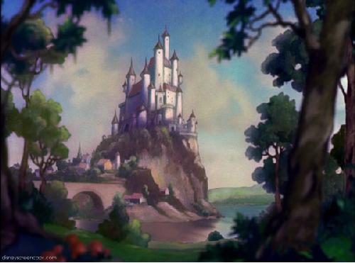 Snow White castle filmprincesses.blogspot.com
