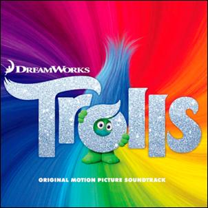 baixar capa CD Trilha Sonora Original do Filme Trolls Lançamento 2016