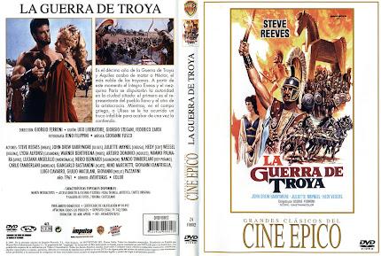 La guerra de Troya (1961) | Caratula | Cartel | Película
