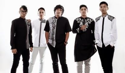baju muslim modern band ungu