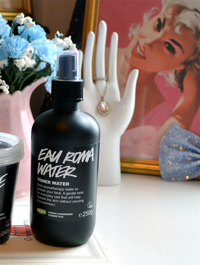 A picture and review of Lush Eau Roma Water Toner