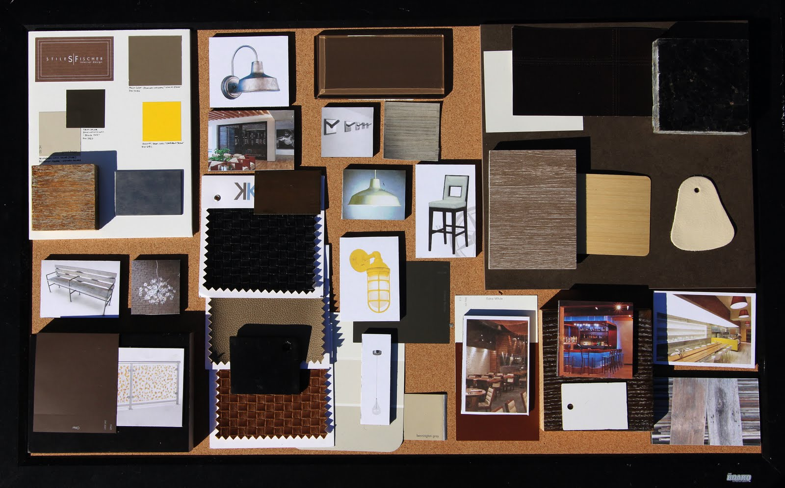 Stiles fischer interior design what i do presentation for Interior designs materials