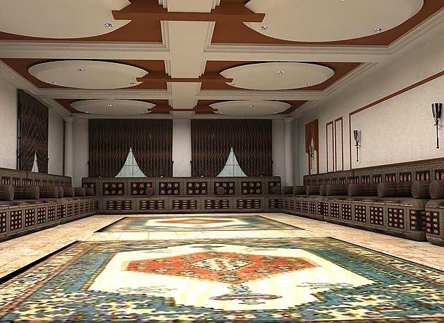 salon marocain velour rouge salons du maroc et dcoration orientale fvrier 2014 - Salons Moderne En Velours