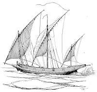 The xebec was the preferred ship of North Africa's Barbary corsairs, but the vessel type was also used by the main Mediterranean sea powers