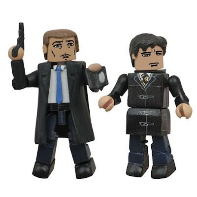 "San Diego Comic-Con 2015 Exclusive Gotham ""Fateful Meeting"" Minimates Box Set - Jim Gordon & Bruce Wayne"