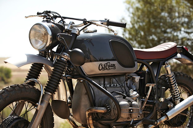 Vintage BMW by CRD Motor cycle