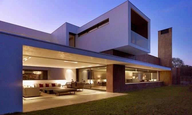 Casa en la moraleja dhal ghg architects madrid for Las mejores casas minimalistas del mundo