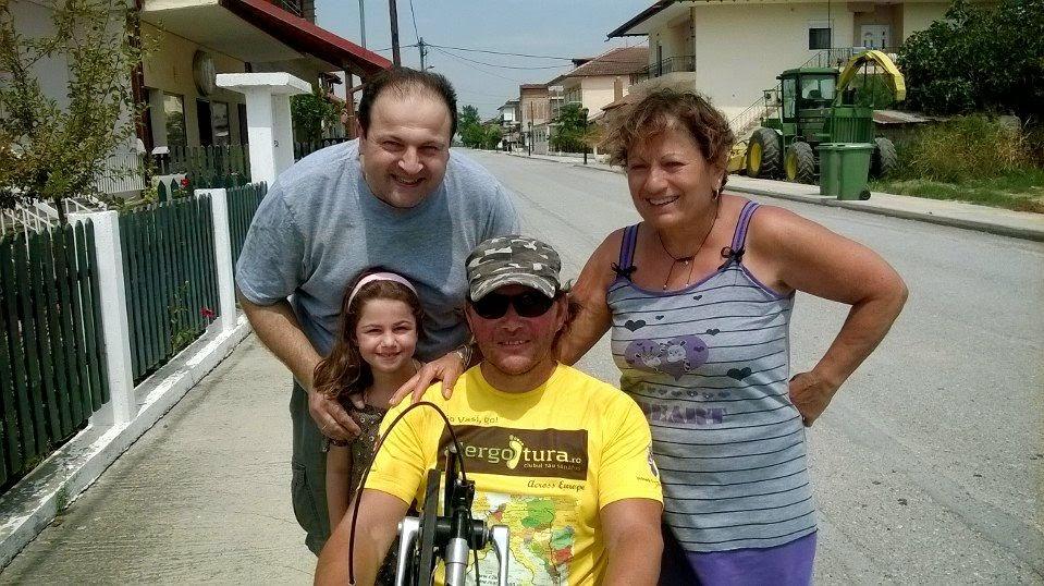 Vasile Stoica merge mai departe prin Europa. Relatări din Serbia, Macedonia şi Grecia