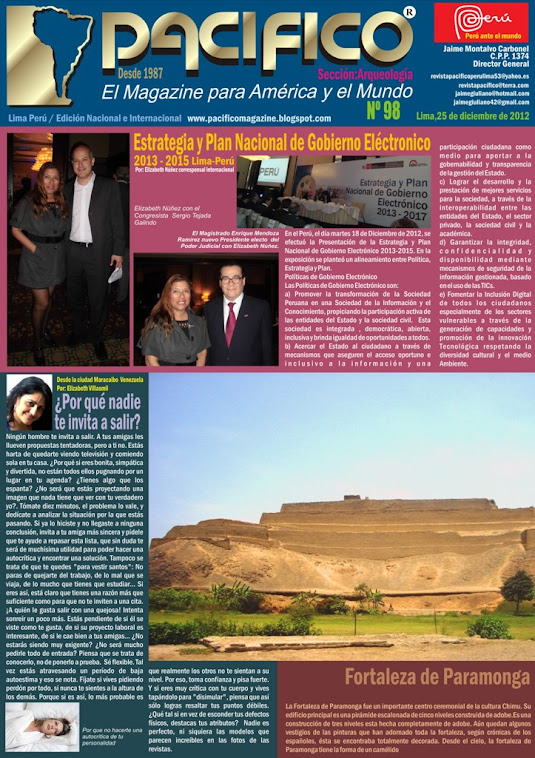 Revista Pacífico Nº 98 Arqueología
