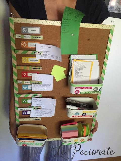 command station fai da te: come organizzare gli impegni di tutta la famiglia senza stress!