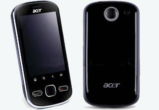 Acer beTouch E140, Acer Smartphone