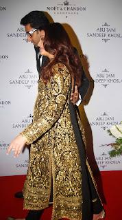 Aishwarya Abhishek attends