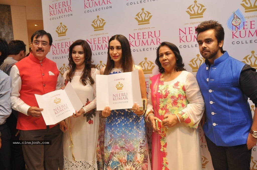 Neeru Kumar launch by Karishma KAppor | Indian Designers