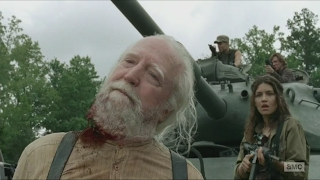 Picture of Hershel's Death from Walking Dead